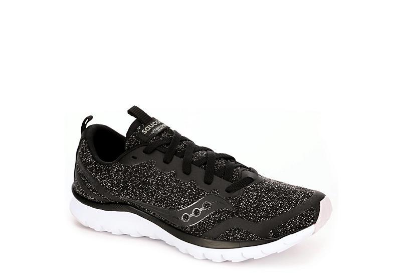 8d488ecaccaa Saucony Womens Lifeform Running Shoe - Black