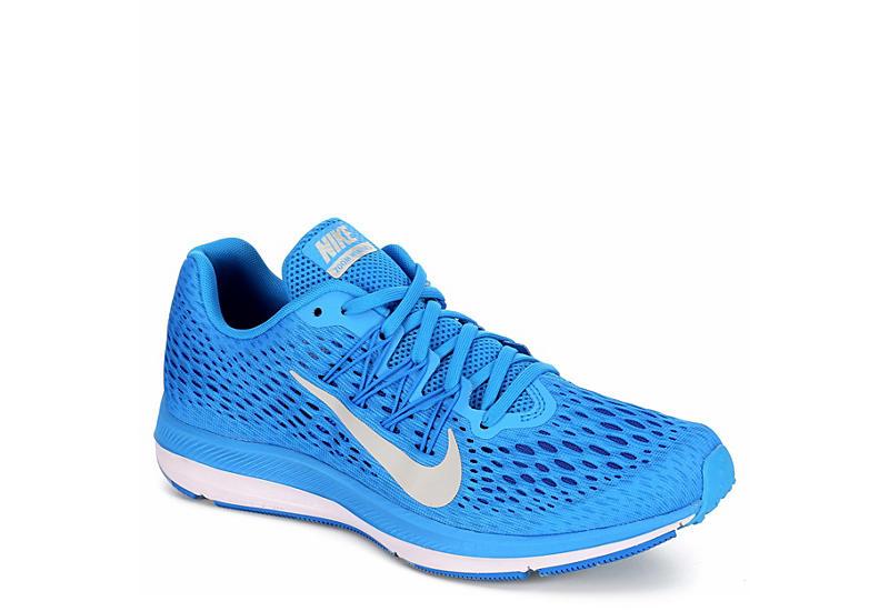 c92f6e8605ff2 Blue Nike Zoom Winflo 5 Women s Running Shoe
