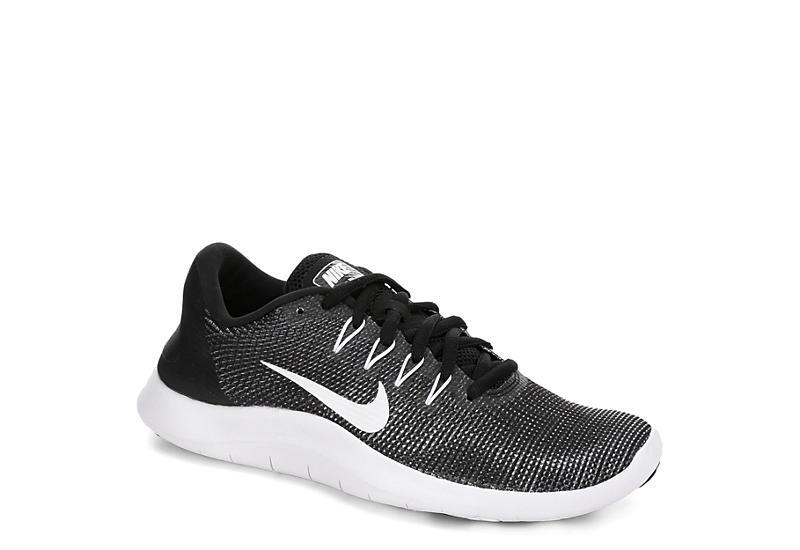 43107fa99d0 Nike Womens Flex Run 2018 Running Shoe - Black