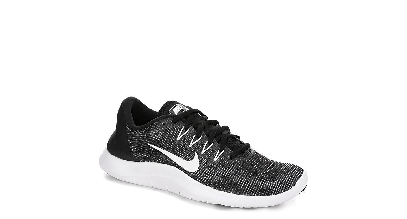 2c51ec7d30ff Nike Womens Flex Run 2018 Running Shoe - Black