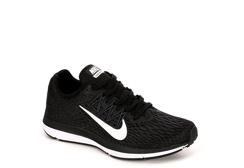 uk availability 05823 50c1b BLACK NIKE Womens Zoom Winflo 5 Running Shoe