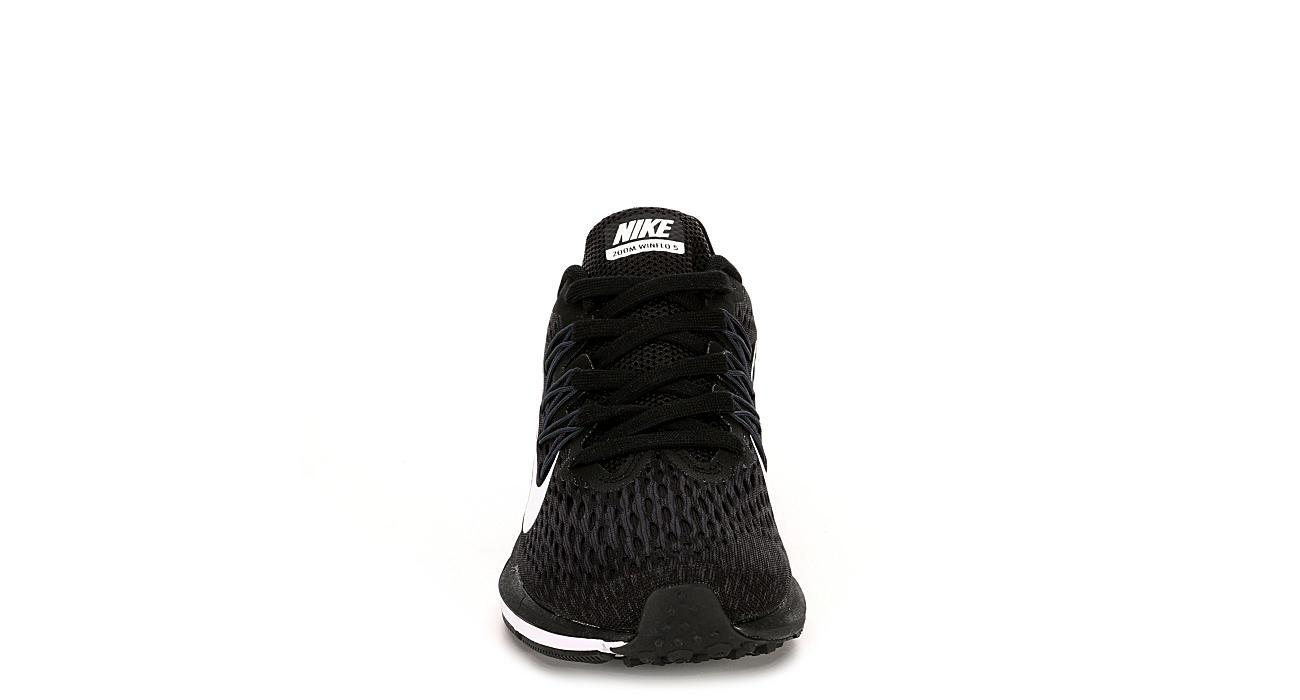NIKE Womens Zoom Winflo 5 Running Shoe - BLACK