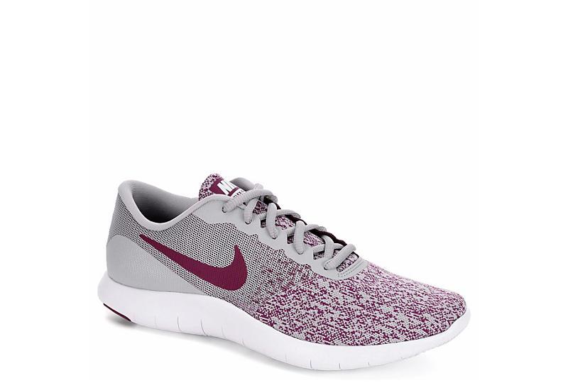 b3193cd02bbf4 Grey   Purple Nike Flex Contact Women s Running Shoe