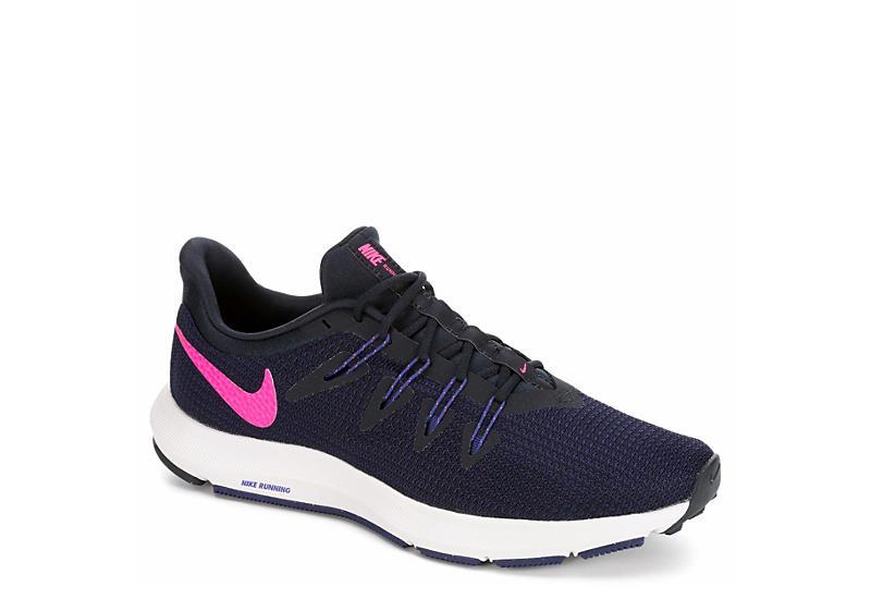 0a9f8fa6bb2 Navy Nike Womens Run Quest Running Shoe