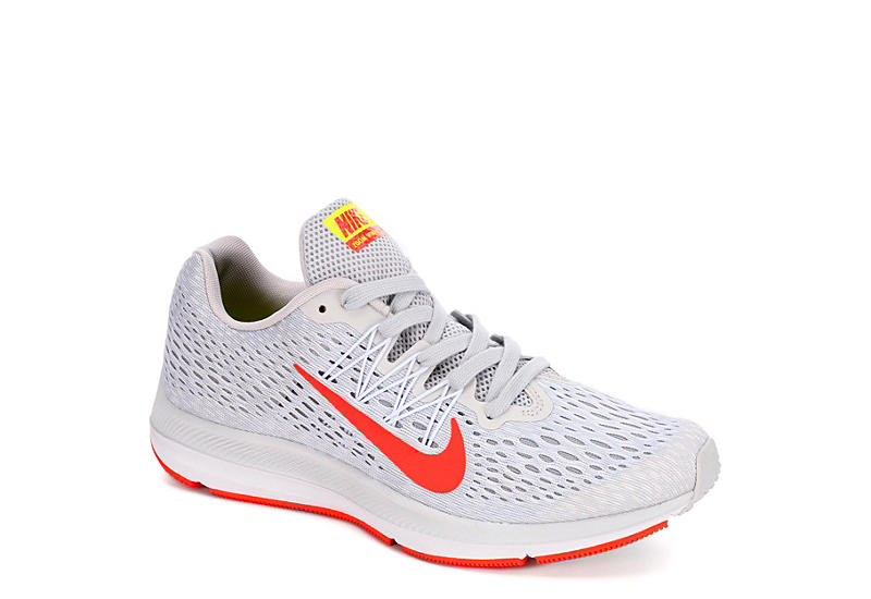 7a9636cc128c12 Nike Womens Zoom Winflo 5 Running Shoe - Grey