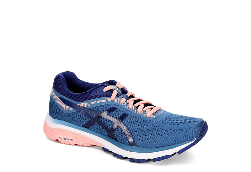 ASICS Womens Gt 1000-7 Running Shoe - NAVY