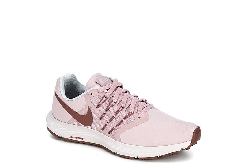 NIKE Womens Run Swift Running Shoe - BLUSH