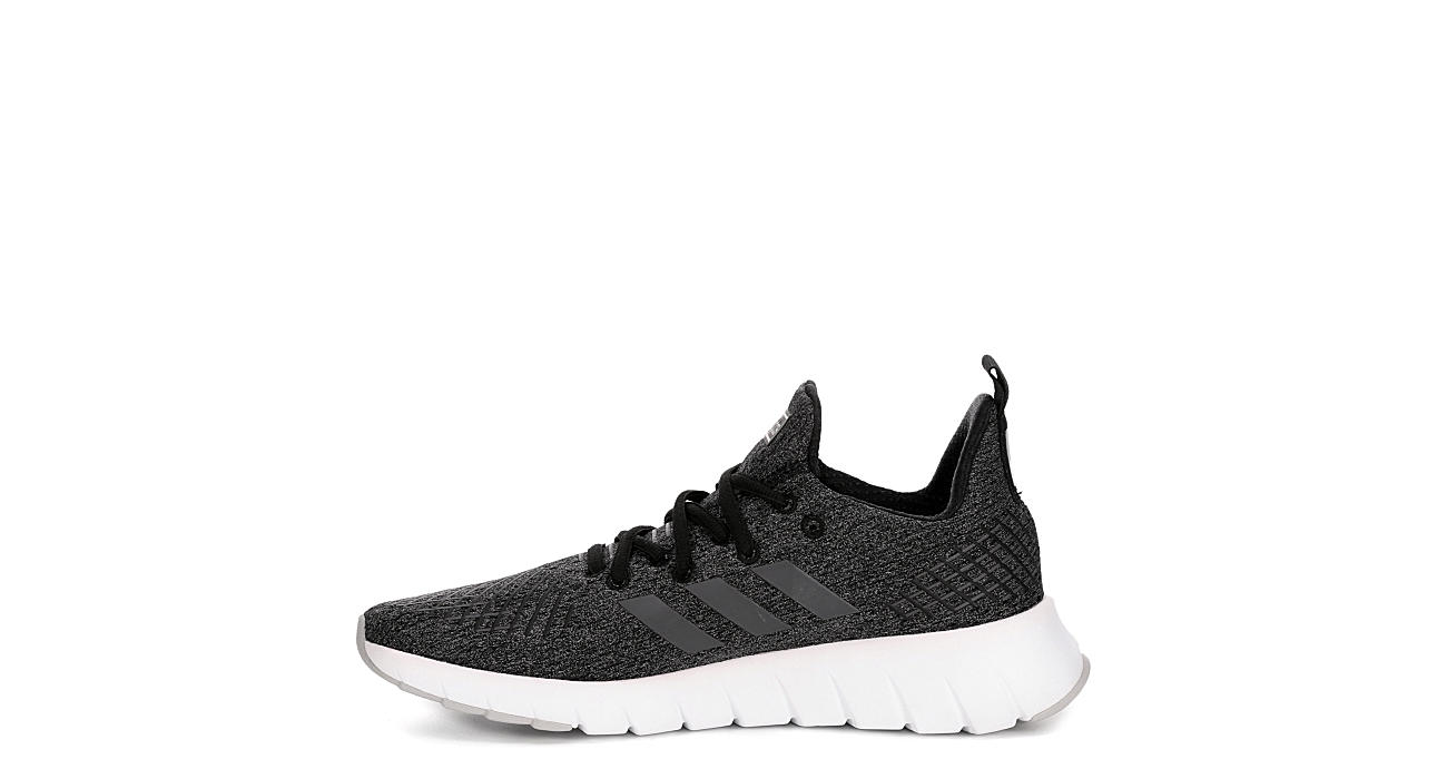 ADIDAS Womens Asweego Run Sneaker - BLACK