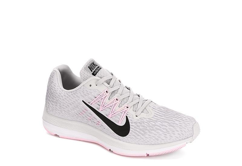 3d0e50fdbf627 Nike Womens Zoom Winflo 5 Running Shoe - Grey