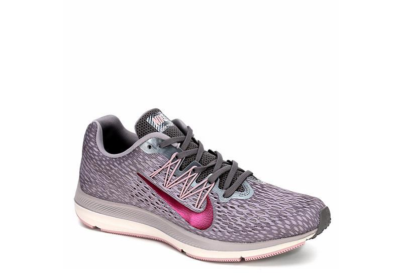 super popular d8bb5 458f1 GREY NIKE Womens Zoom Winflo 5 Running Shoe