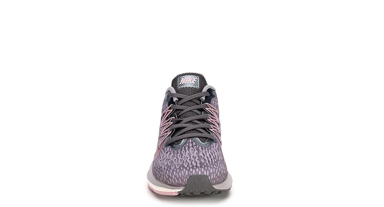 NIKE Womens Zoom Winflo 5 Running Shoe - GREY