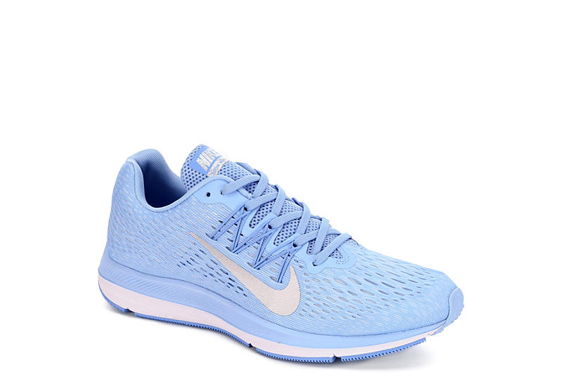 check out e6a31 a58d3 BLUE NIKE Womens Zoom Winflo 5 Running Shoe