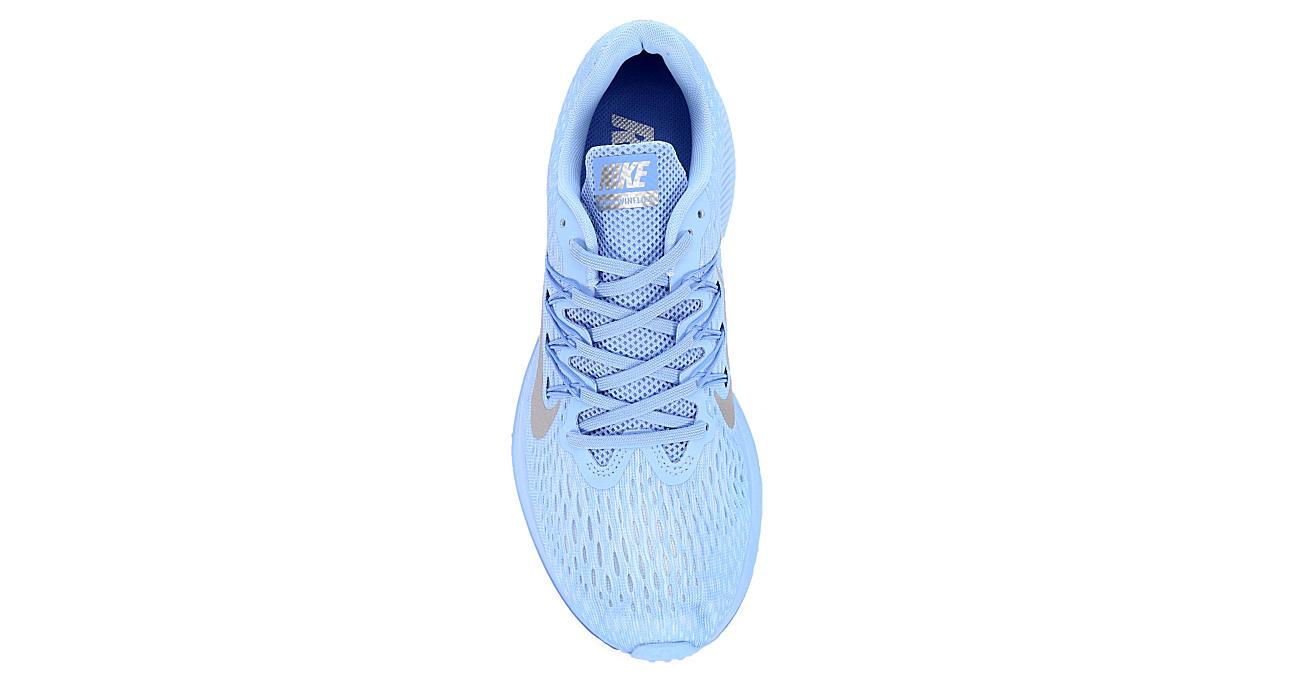 NIKE Womens Zoom Winflo 5 Running Shoe - BLUE