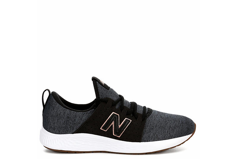 NEW BALANCE Womens Fresh Foam Sport Sneaker - BLACK