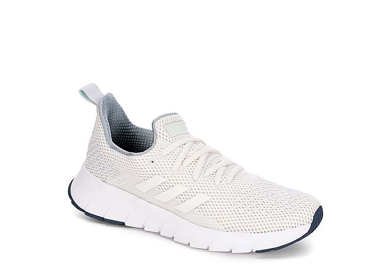 bbf4089324 WHITE ADIDAS Womens Asweego Run Sneaker