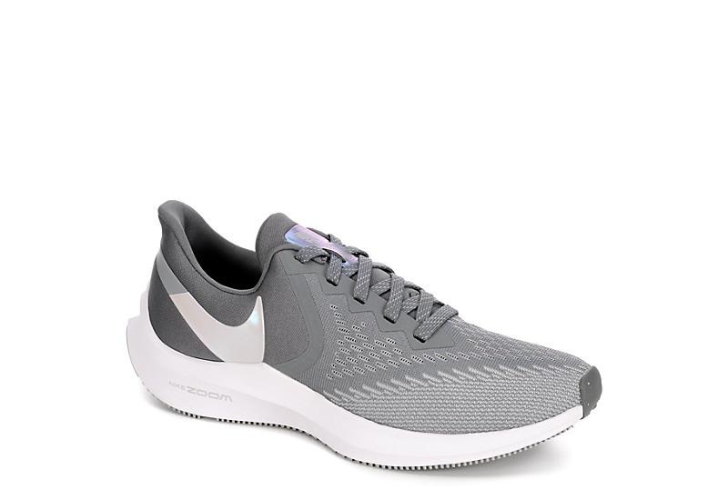 NIKE Womens Winflo 6 Running Shoe - GREY
