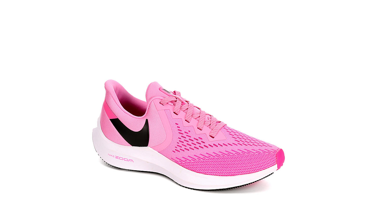 NIKE Womens Winflo 6 Running Shoe - PINK