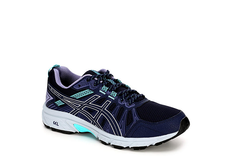 ASICS Womens Venture 7 Running Shoe - BLACK