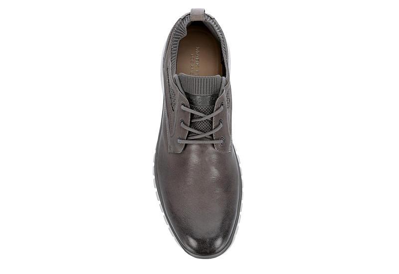 MARK NASON LOS ANGELES Mens Keizer Sneaker - DARK GREY