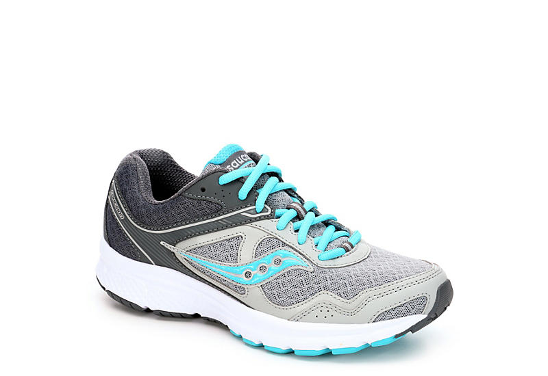 Grey Saucony Womens Cohesion 10 Running Shoe 512295