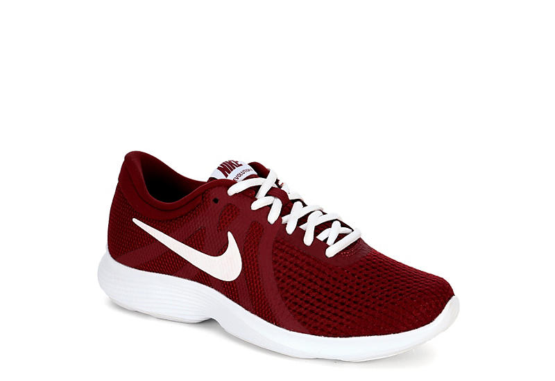 fc606d32d171 Burgundy Nike Womens Revolution 4 Running Shoe