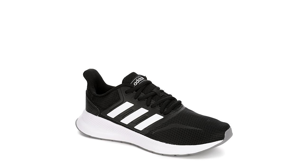 05643854f25a Black Adidas Womens Falcon Running Shoe | Running | Off Broadway Shoes