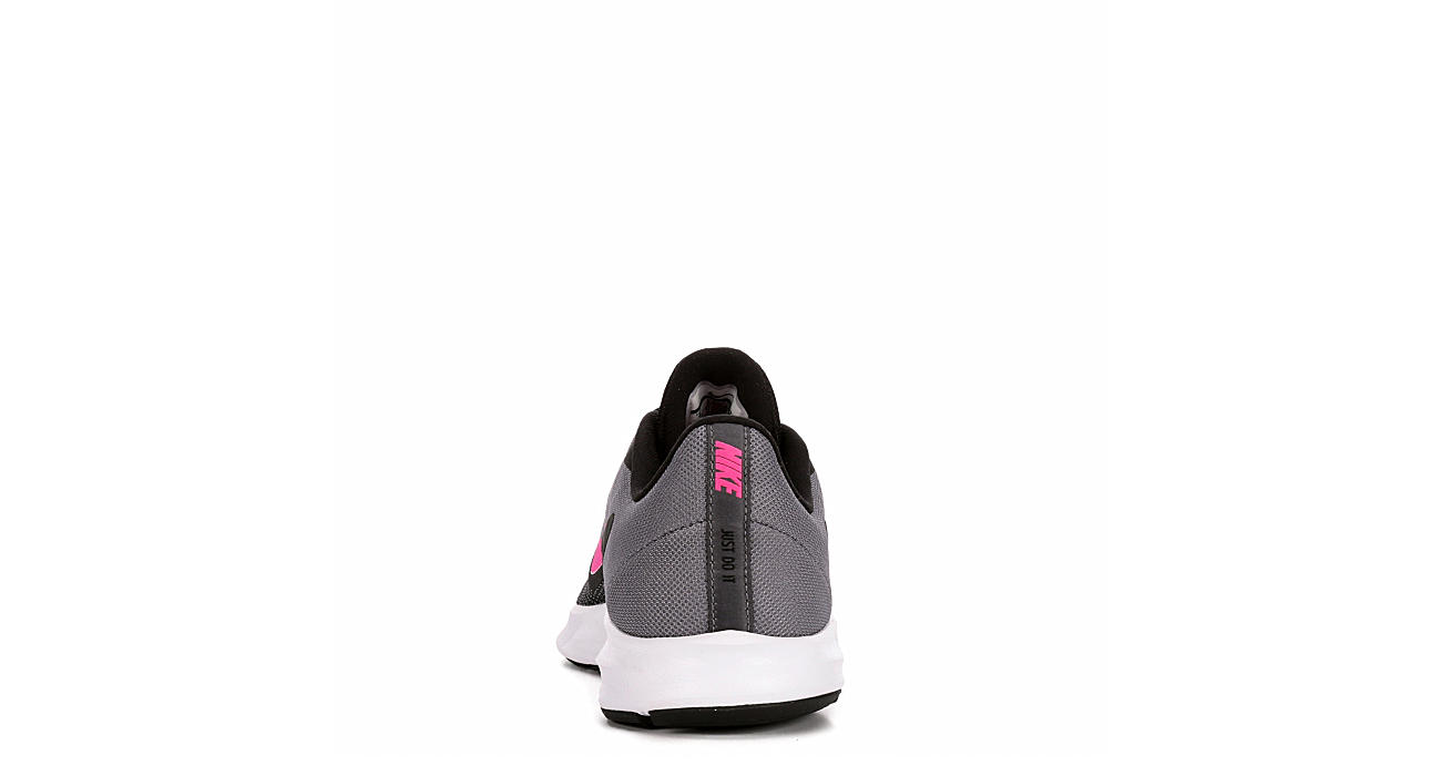 NIKE Womens Downshifter 9 Running Shoe - BLACK