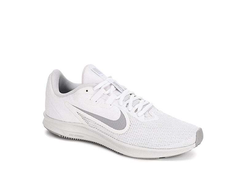 f897da36f8680 WHITE NIKE Womens Downshifter 9 Running Shoe