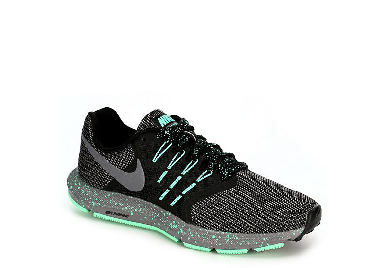 26734760cd34c Black   Green Women s Nike Run Swift Running Shoes