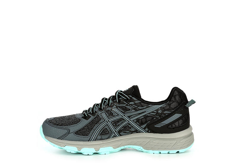 ASICS Womens Venture 6 Trail Running Shoe - GREY