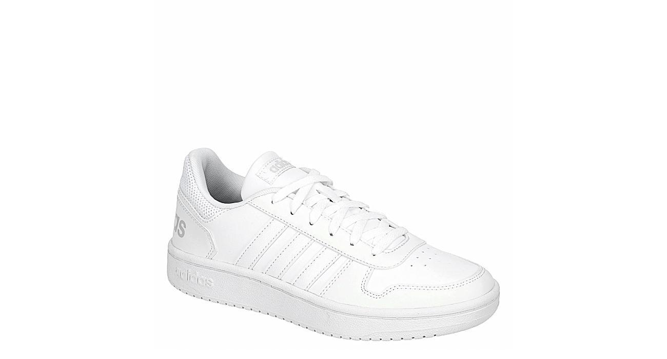 ADIDAS Womens Hoops 2.0 Sneaker - WHITE
