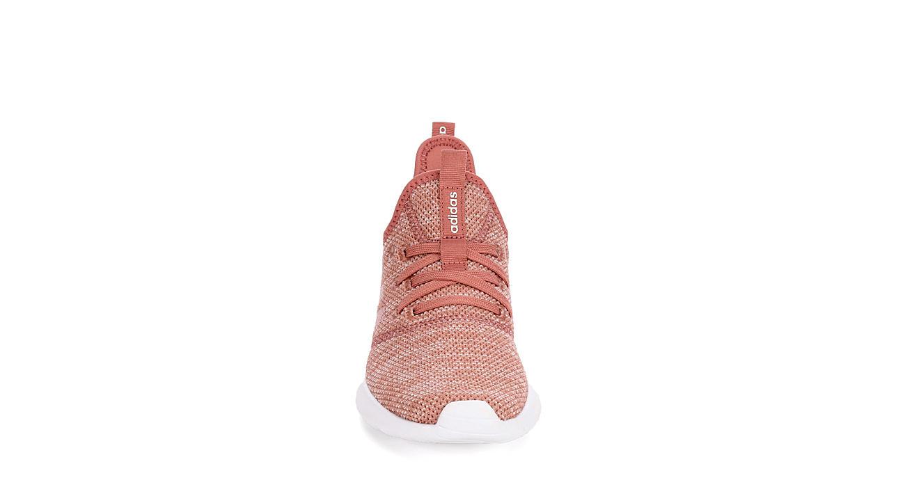 ADIDAS Womens Cloudfoam Pure Sneaker - RUST
