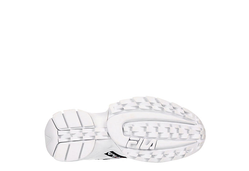 FILA Womens Hit N Run Sneaker - WHITE