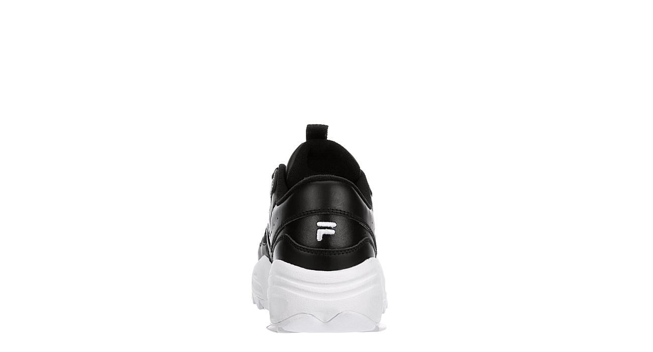 FILA Womens Hit N Run Sneaker - BLACK