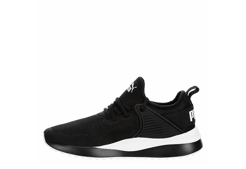 PUMA Womens Pacer Cage Sneaker - BLACK