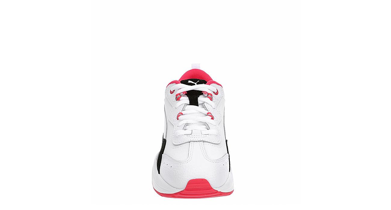 PUMA Womens Cilia Sneaker - WHITE