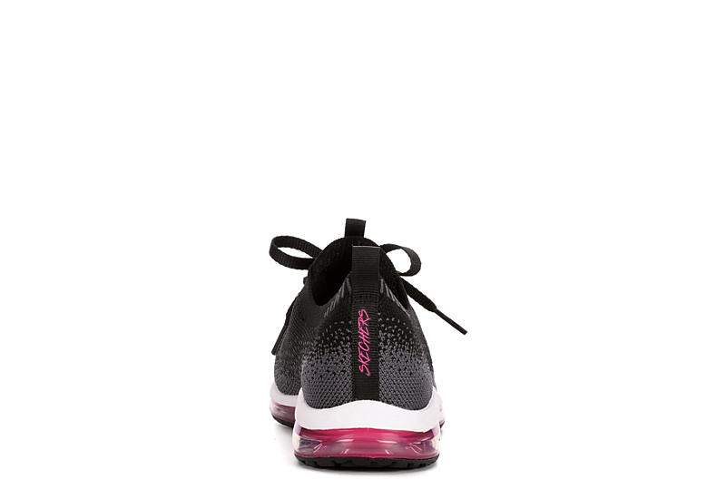 SKECHERS Womens Skech-air Element Brisk Motion - BLACK