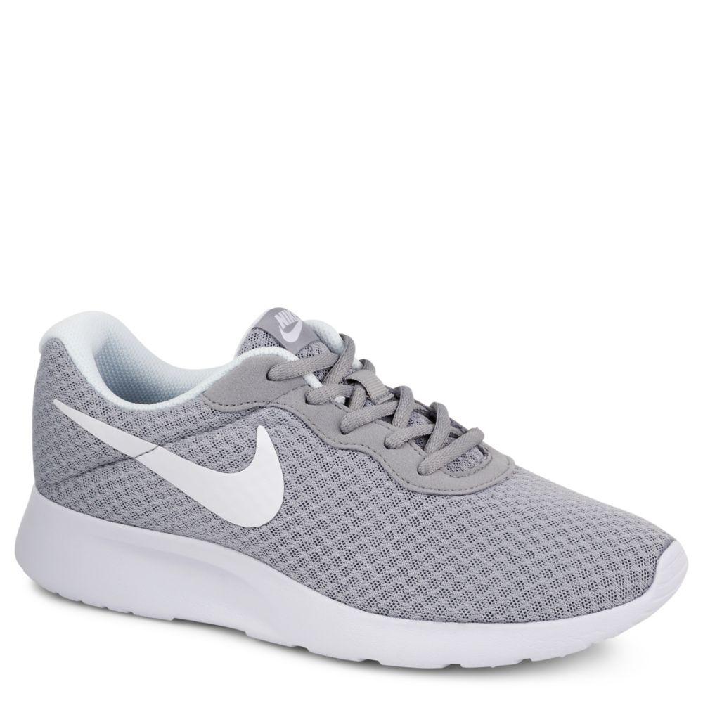 grey nike shoes