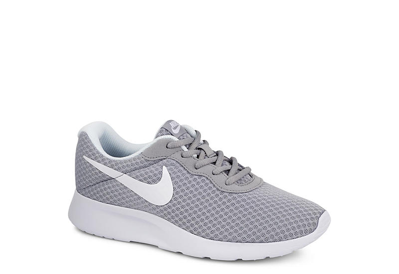 Grey Nike Tanjun Women s Sneakers  87bbd12b4