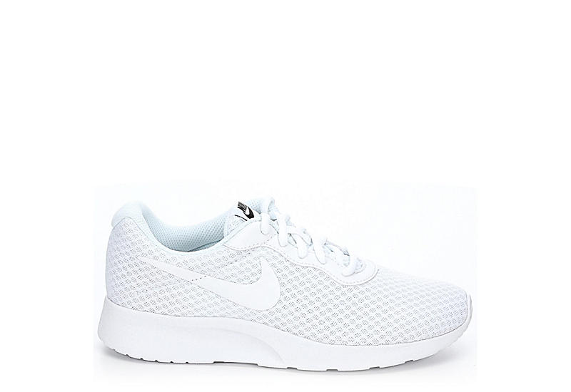 48feda800af All White Nike Tanjun Women's Sneakers | Off Broadway Shoes