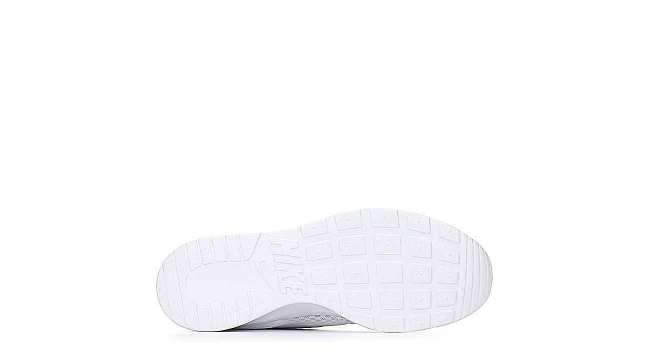 NIKE Womens Tanjun Sneaker - WHITE