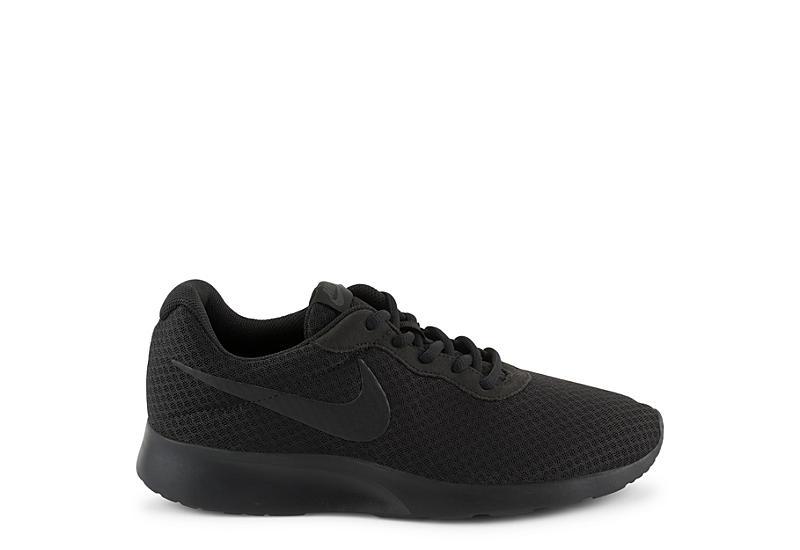 NIKE Womens Tanjun Sneaker - BLACK