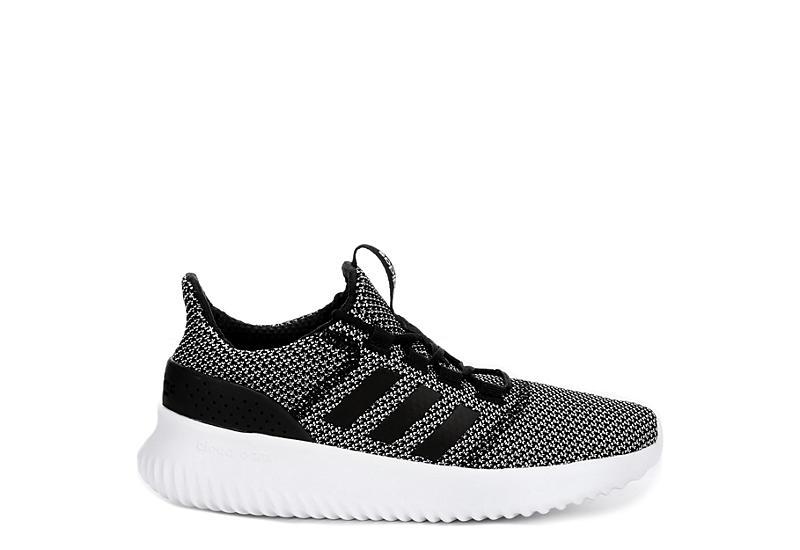 Black Adidas Womens Cloudfoam Ultimate Sneaker Athletic