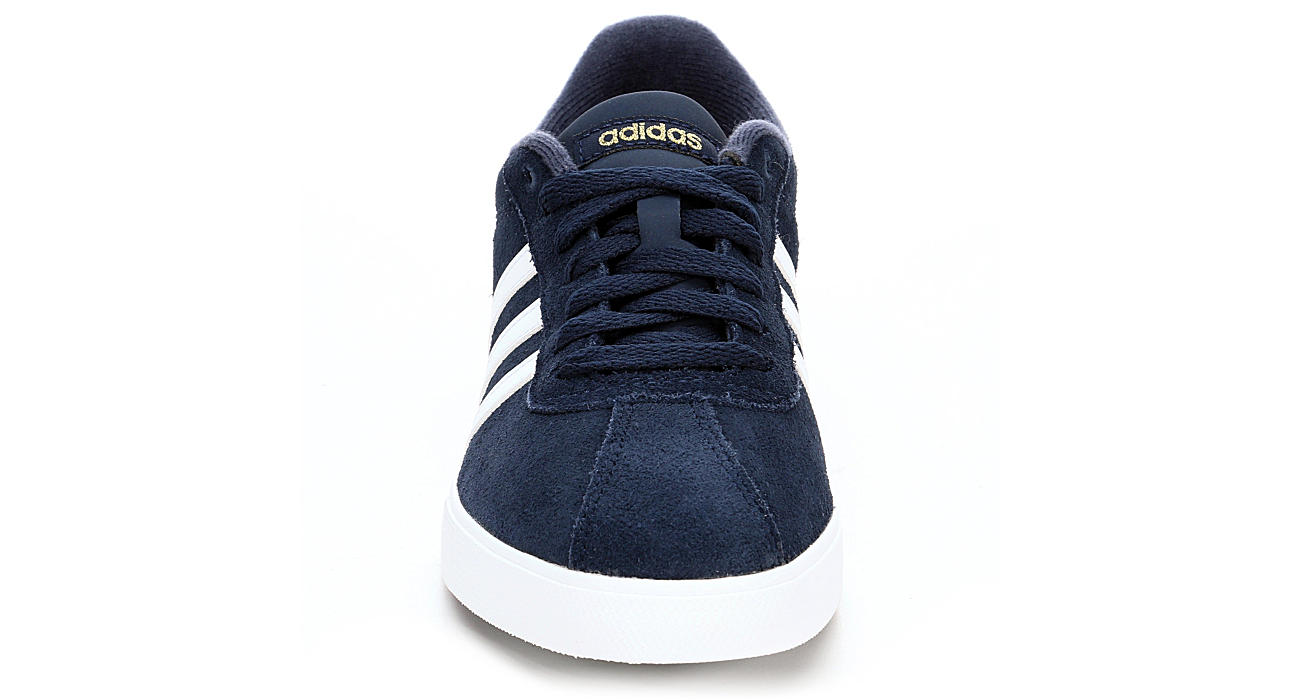 bc18d7c7b8ce Navy Blue adidas Courtset Women s Sneakers