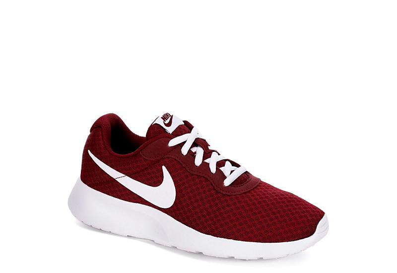 Burgundy Nike Womens Tanjun Sneaker Athletic Off Broadway Shoes
