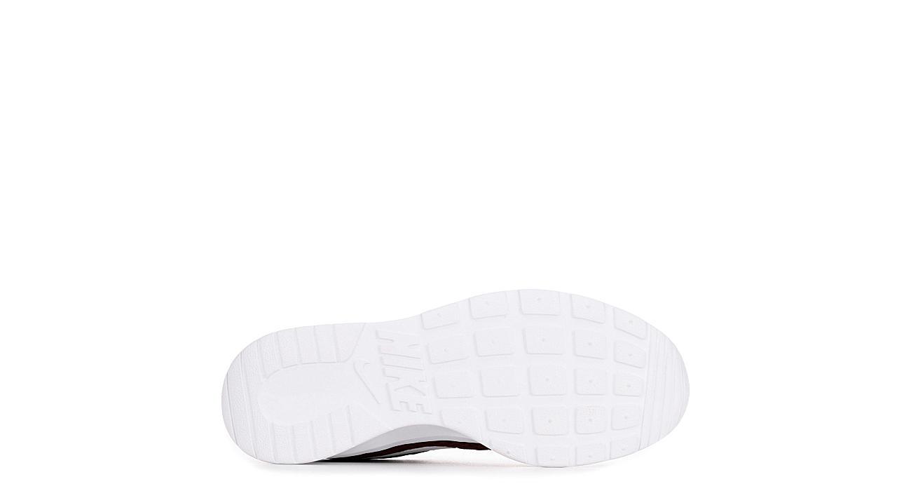 NIKE Womens Tanjun Sneaker - BURGUNDY