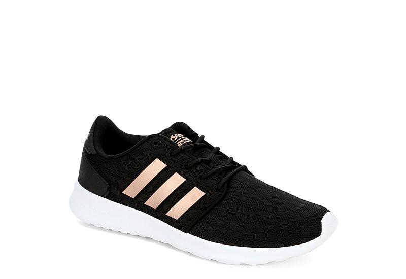 Black Adidas Womens Qt Racer Sneaker  f9d6d0109