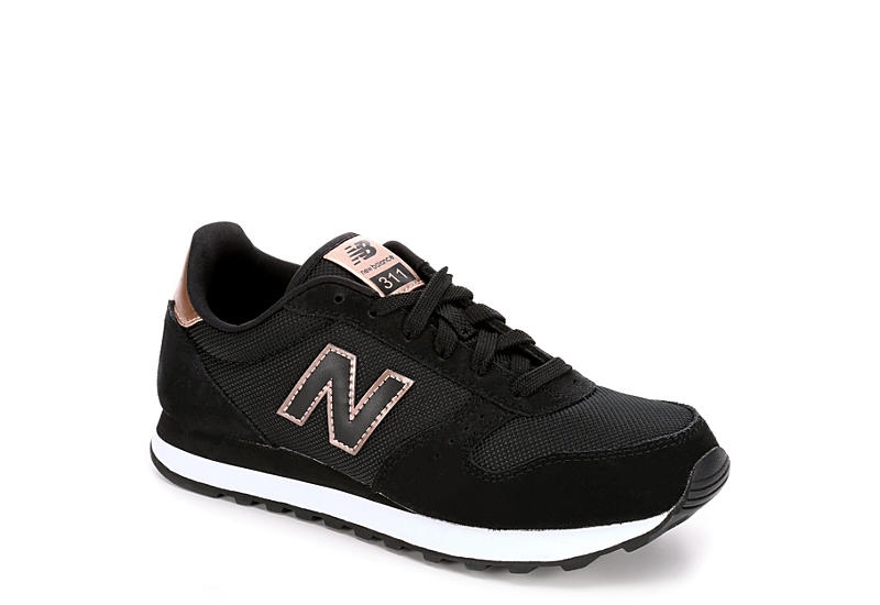 BLACK NEW BALANCE Womens 311 Sneaker