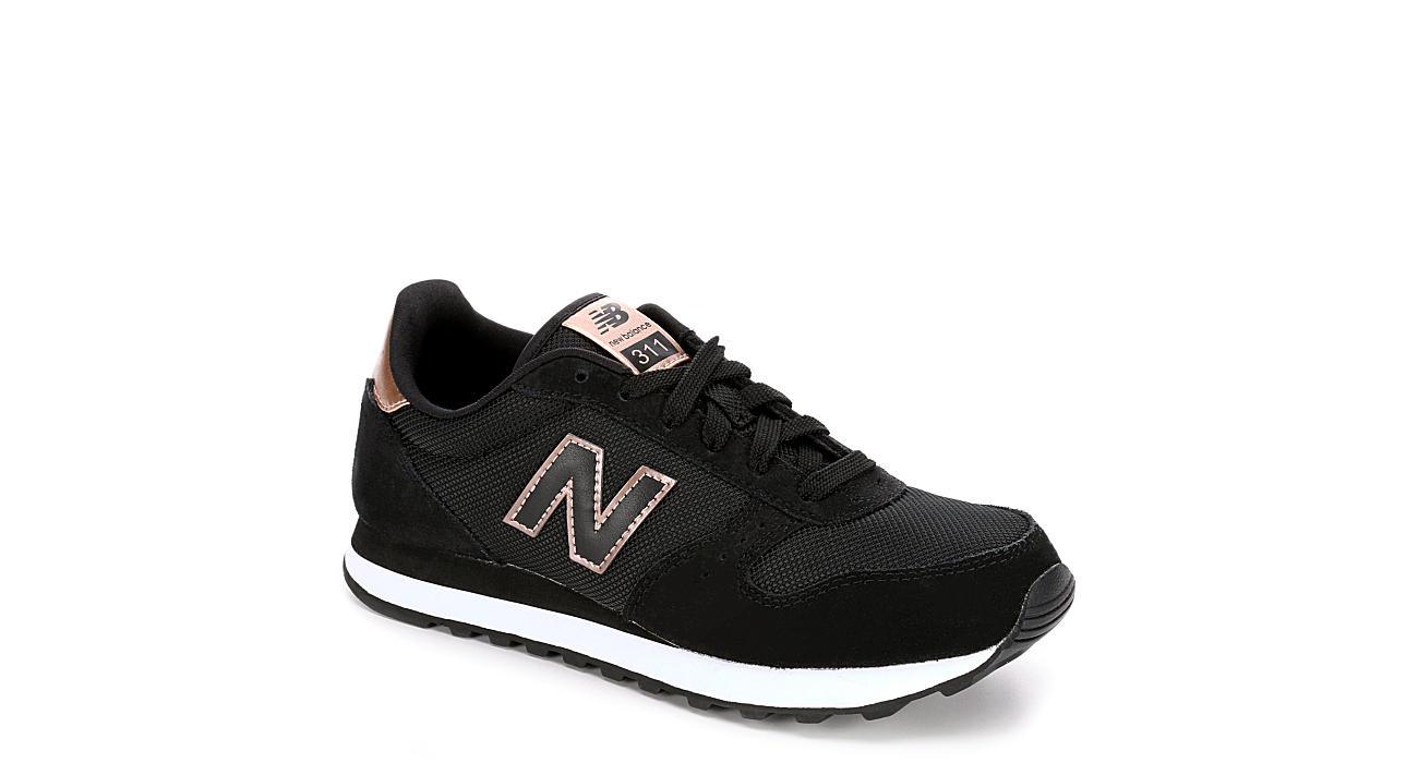 wholesale dealer 55bc2 b8ff8 New Balance Womens 311 Sneaker - Black