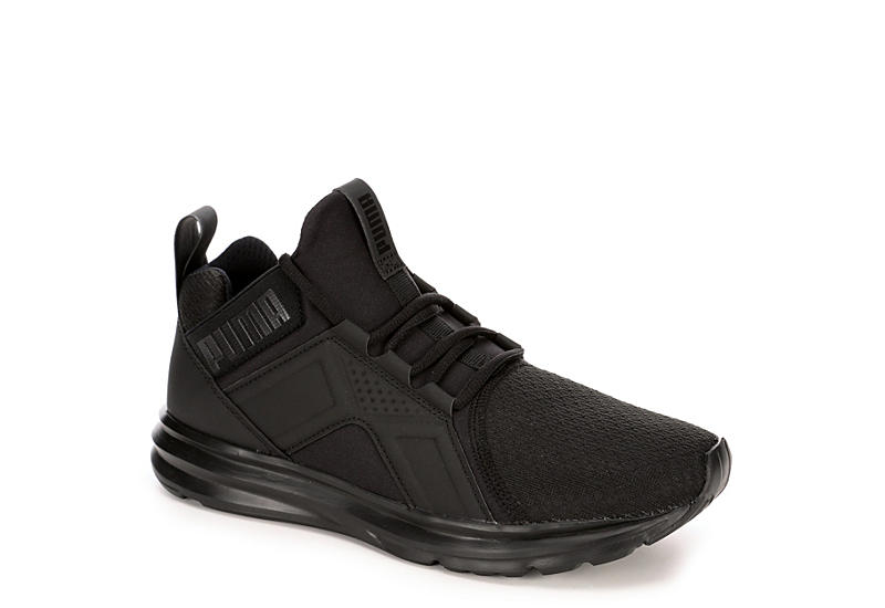 PUMA Womens Enzo Mid Sneaker - BLACK